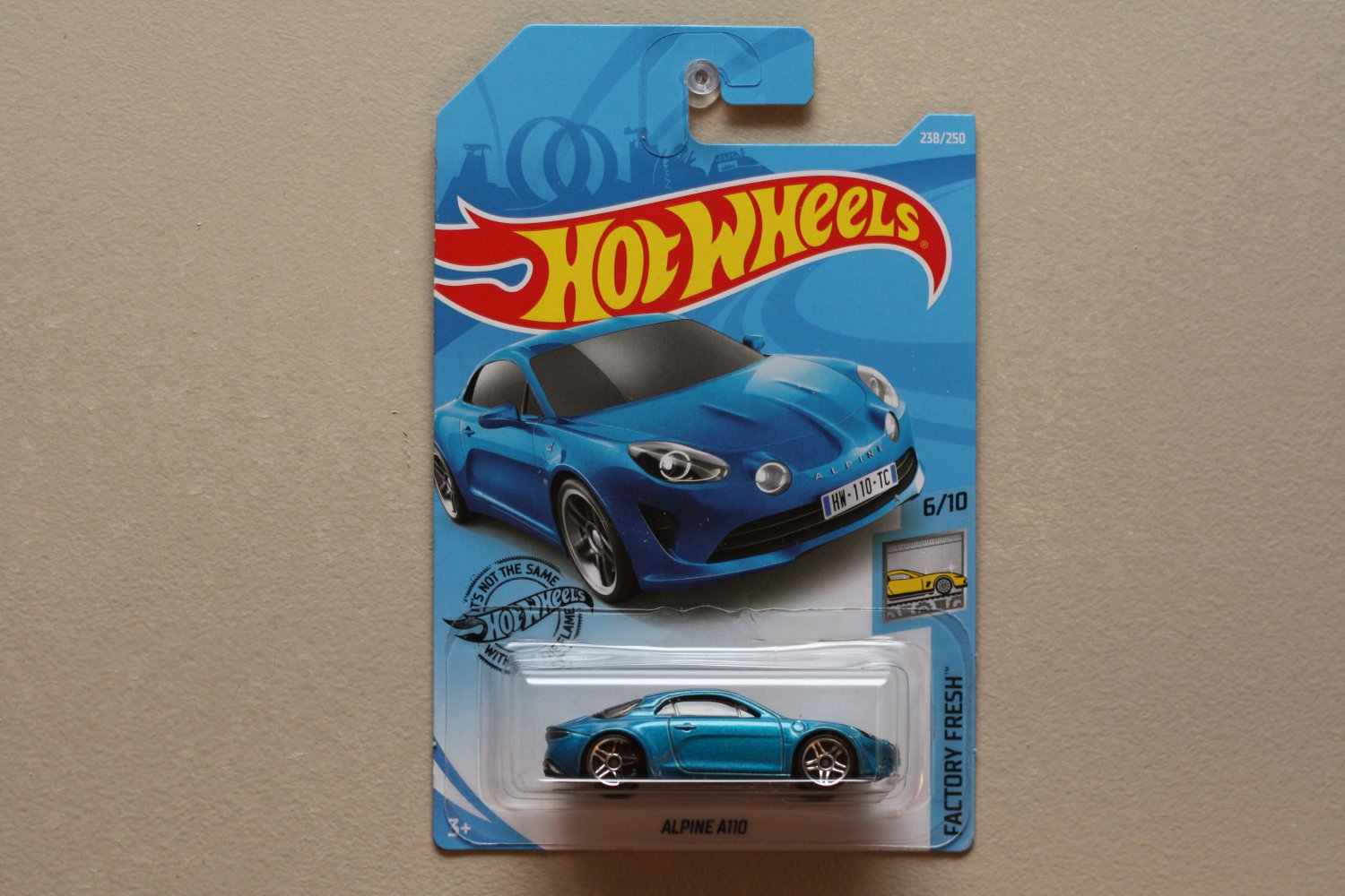 Hot Wheels 2019 Factory Fresh Alpine A110 (blue)