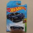 Hot Wheels 2019 HW Exotics '16 Bugatti Chiron (blue)