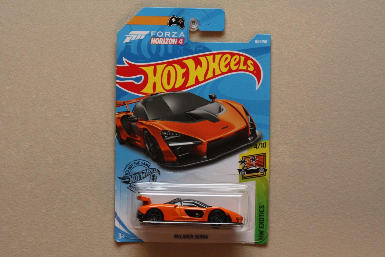 Hot Wheels 2019 HW Exotics McLaren Senna (orange)