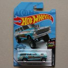 Hot Wheels 2019 HW Race Day '64 Chevy Nova Wagon Gasser (turquoise) (SEE CONDITION)