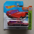 Hot Wheels 2015 HW Workshop 8 Crate (burgundy) (SEE CONDITION)