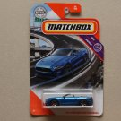 Matchbox 2020 MBX Highway '18 Ford Mustang GT Convertible (blue)