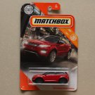 Matchbox 2020 MBX City '14 Range Rover Evoque (Land Rover) (red)