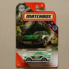 Matchbox 2020 MBX Jungle '85 Porsche 911 Rally (green)