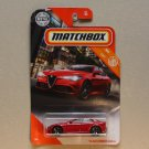 Matchbox 2020 MBX City '16 Alfa Romeo Giulia (red)