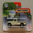 Matchbox 2018 MBX Road Trip Jeep Willys Pickup 4x4 (ivroy)