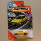 Matchbox 2020 MBX Highway '76 Honda Civic CVCC (yellow)