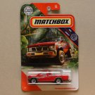 Matchbox 2020 MBX Jungle '95 Nissan Hardbody D21 (red)