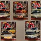Hot Wheels 2020 Car Culture Japan Historics 3 (COMPLETE SET OF 5) (Nissan, Honda, Mazda, Datsun)