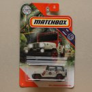 Matchbox 2020 MBX Jungle Jeep Wrangler Rollbar (Jurassic Park #18)