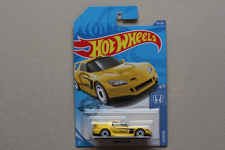 Hot Wheels 2020 Honda Series Honda S2000 (yellow)