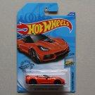 Hot Wheels 2020 Factory Fresh '19 Corvette ZR1 Convertible (orange) (SEE CONDITION)