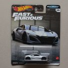 Hot Wheels 2020 Fast & Furious Premium Full Force '17 Acura NSX