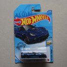 Hot Wheels 2020 Factory Fresh '19 Corvette ZR1 Convertible (blue) (SEE CONDITION)