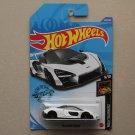 Hot Wheels 2020 Nightburnerz McLaren Senna (white) (SEE CONDITION)