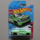 Hot Wheels 2020 HW Rescue Chevy Silverado (lime green) (Treasure Hunt) (SEE CONDITION)