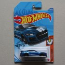 Hot Wheels 2020 Muscle Mania '20 Ford Mustang Shelby GT500 (blue) (SEE CONDITION)