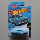 Hot Wheels 2020 Nightburnerz '64 Chevy Chevelle SS (teal) (Magnus Walker)
