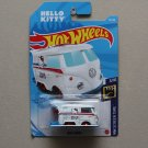 Hot Wheels 2021 HW Screen Time Volkswagen Kool Kombi (white) (Hello Kitty)