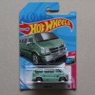 Hot Wheels 2021 HW Drift '94 Dodge Van (seafoam green)