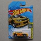 Hot Wheels 2021 HW Speed Graphics Subaru WRX STI (yellow)