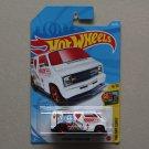 Hot Wheels 2021 HW Art Cars Custom '77 Dodge Van (white) (Treasure Hunt)