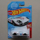 Hot Wheels 2021 Then And Now Ford GT-40 (white) (Gum Ball 3000)