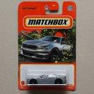 Matchbox 2021 #55/100 '18 Dodge Charger (grey)