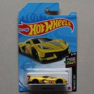 Hot Wheels 2021 HW Race Day Corvette C8.R (yellow)