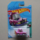 Hot Wheels 2021 Tooned Manga Tuner (pink) (SEE CONDITION)