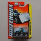 Matchbox 2013 MBX Construction Tractor Plow TKT+ (blue)