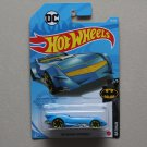 Hot Wheels 2021 Batman The Batman Batmobile (blue) (SEE CONDITION)