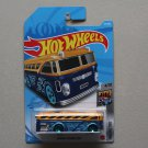 Hot Wheels 2021 HW Metro Surfin' School Bus (yellow/blue)