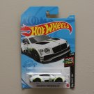 Hot Wheels 2021 HW Race Day '18 Bentley Continental GT3 (white)