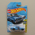 Hot Wheels 2021 HW Speed Graphics '67 Chevelle SS 396 (blue)