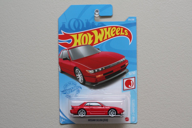 Hot Wheels 2021 HW J-Imports Nissan Silvia [S13] (red)