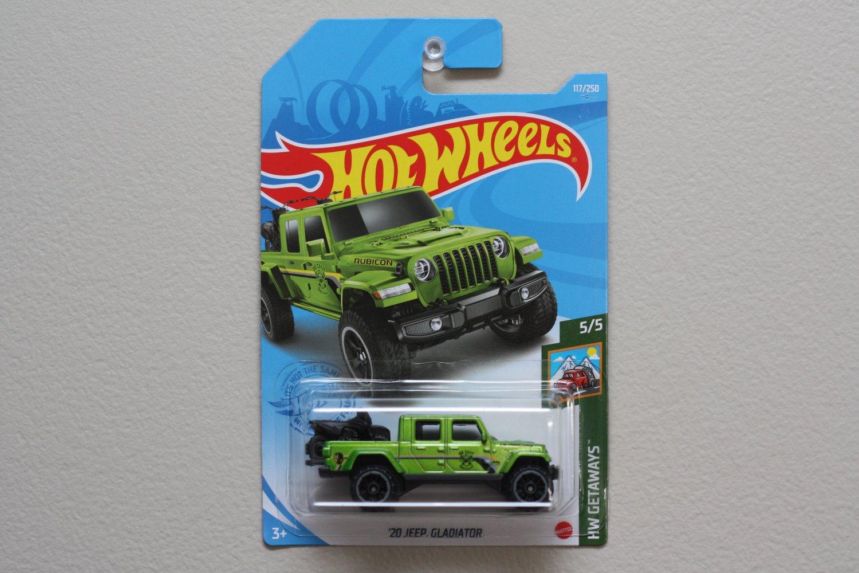 Hot Wheels 2021 HW Getaways '20 Jeep Gladiator (green)