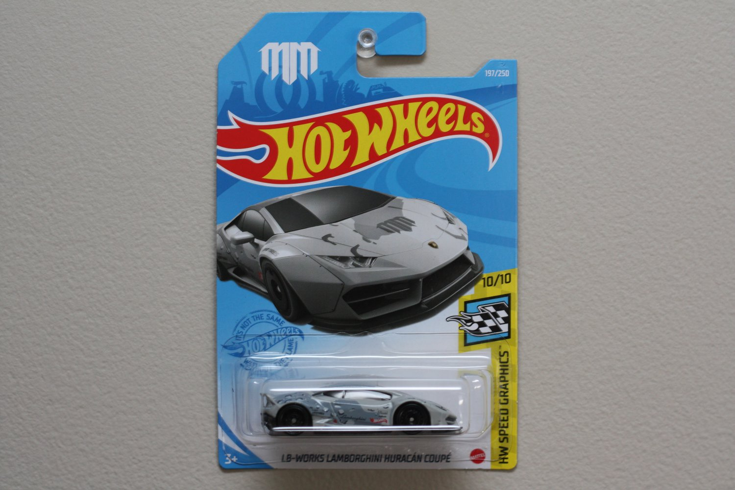 Hot Wheels 2021 HW Speed Graphics LB-Works Lamborghini Huracan Coupe (grey) (Mad Mike)