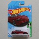 Hot Wheels 2021 HW Green Speed Porsche Taycan Turbo S (red)