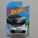 Hot Wheels 2021 HW Green Speed Tesla Cybertruck (ZAMAC silver)