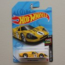 Hot Wheels 2021 HW Race Day '67 Ford GT40 MKIV (yellow)