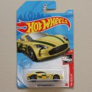 Hot Wheels 2021 HW Rescue Aston Martin ONE-77 (yellow) (SEE CONDITION)