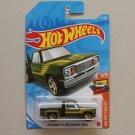 Hot Wheels 2021 HW Hot Trucks '78 Dodge Li'l Red Express Truck (green) (Treasure Hunt)