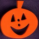 Halloween  Jack-0-Lantern plastic button