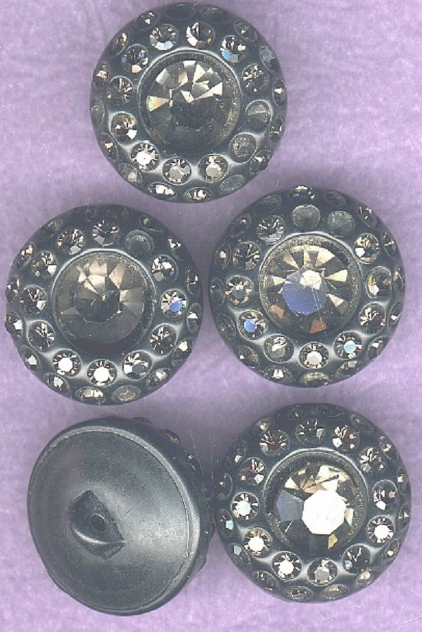 Vintage plastic with faux pastes buttons coat? buttons