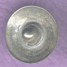 Realistic sombrero hat button Mexican SILVER vintage button