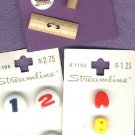 School Days numbers letters plus buttons