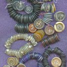 266 old overcoat buttons