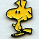 Woodstock realistic button handpainted enameled brass peanuts cartoon character button