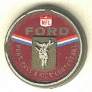 N F L FORD punt pass & kick contestant scatter pin vintage